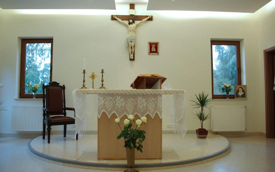 Msze święte w Hospicjum