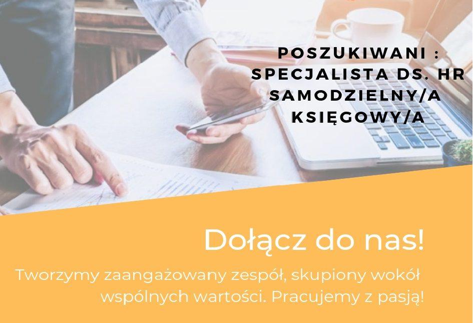 Nowe oferty pracy