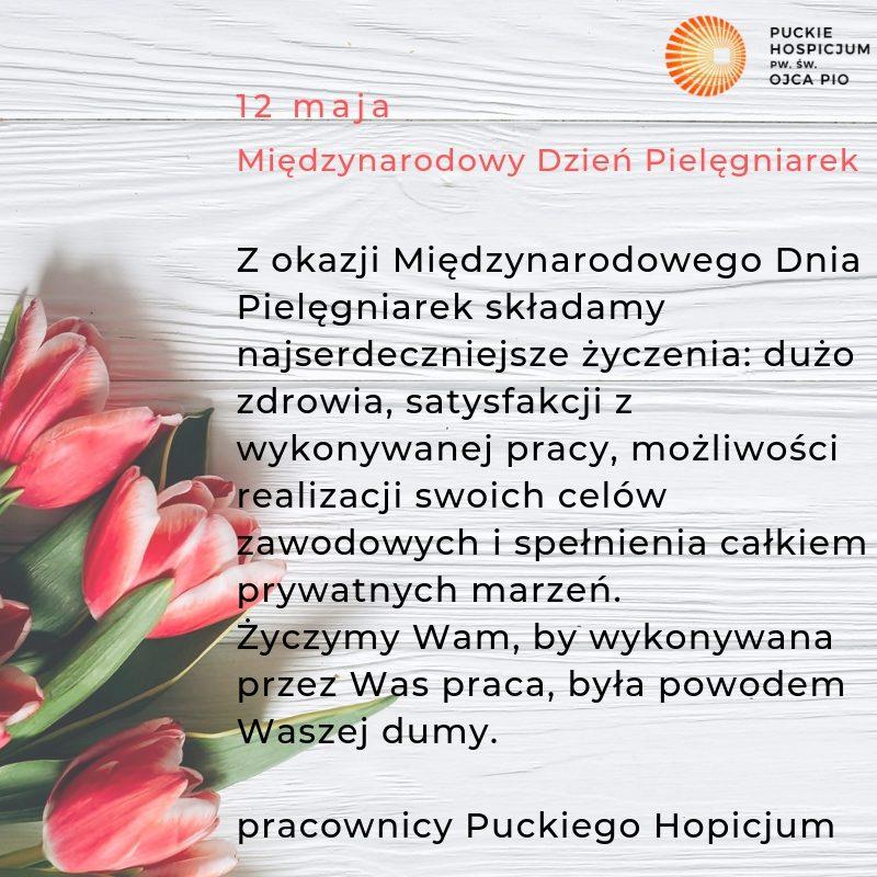 12 maja Międzynarodowy Dzień Pielęgniarek